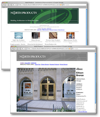 North Products - Artchitectural Products Representative